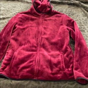 NWOT blood red AMAZINGLY SOFT hoodie